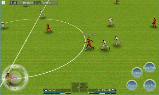 Football games in Android: best 10 to download