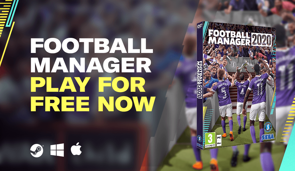 Football Manager 2020 became free due to coronavirus epidemic