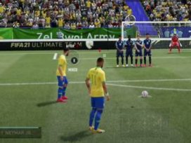 How to take free kicks in FIFA 21: tutorial