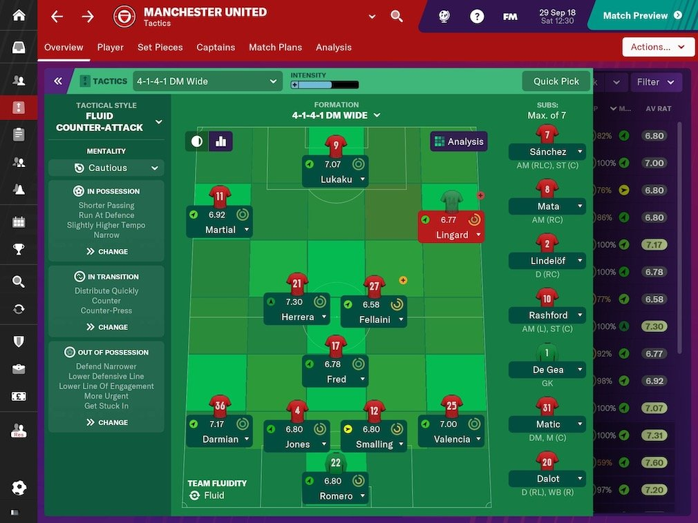 Football Manager 2019 Touch: Switch Review