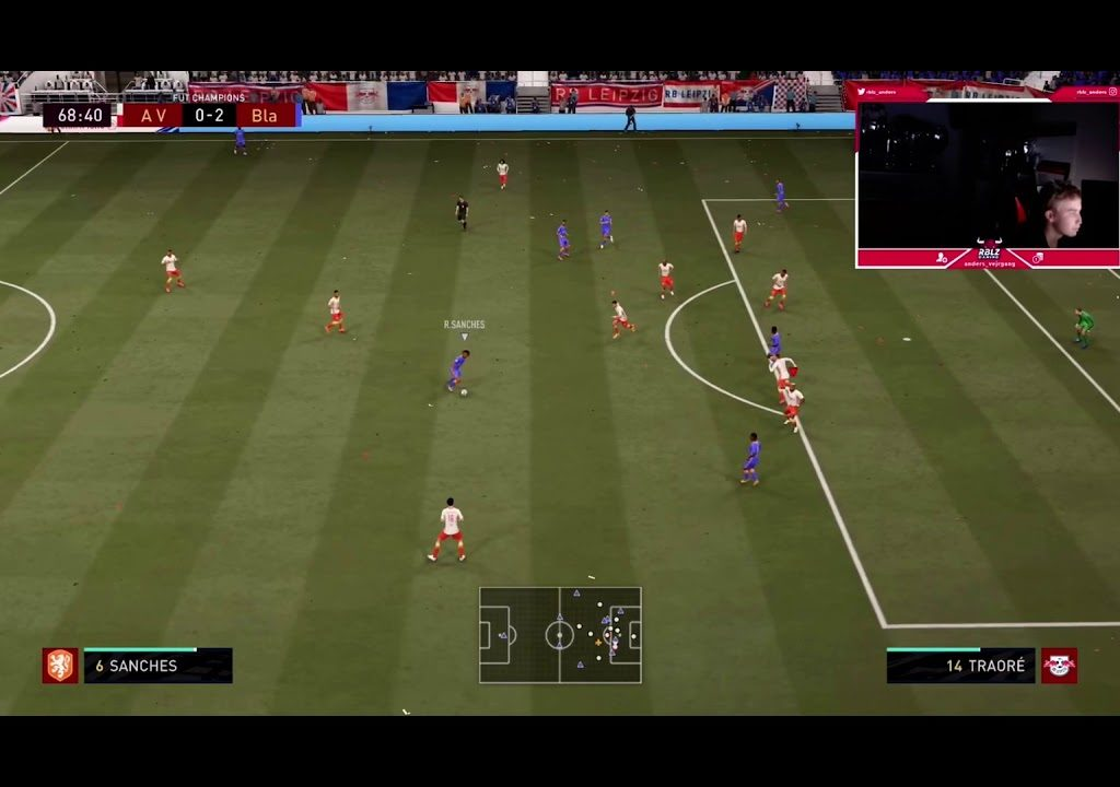 Anders Vejrgang loss for the first time after 18 weeks in FUT