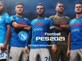 PES 2022: KONAMI Announces Partnership With SSC Napoli