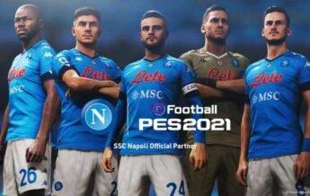 PES 2022: KONAMI Announces Partnership With SSC Napoli